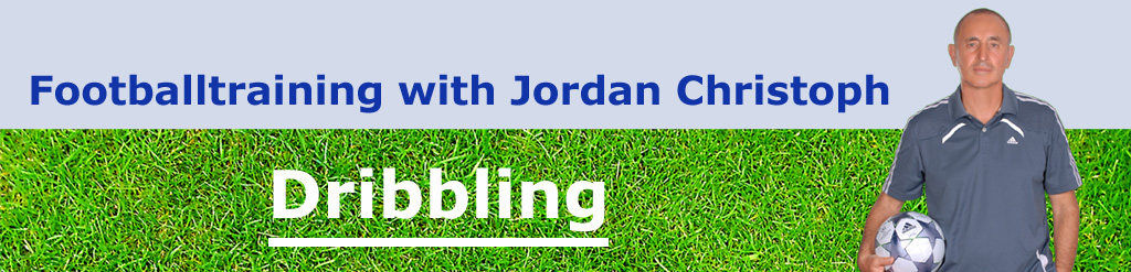 Dribbling Football Training